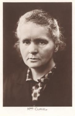 Photograph of Madame Curie