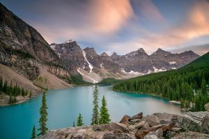 Moraine Lake, Banff National Park by Photographed by Owen O'Grady