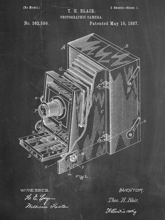 Photographic Camera 1887 Patent