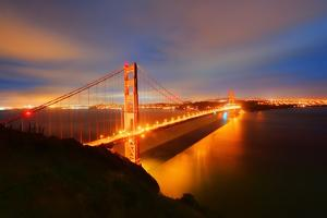 Golden Gate Bridge by Photography by Steve Kelley aka mudpig