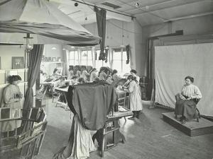 Photography Students at Work, Bloomsbury Trade School for Girls, London, 1911