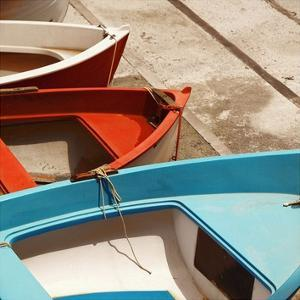 Colorful Boats by PhotoINC Studio