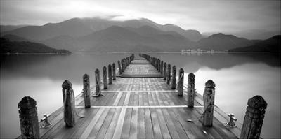 Lake Pier by PhotoINC Studio