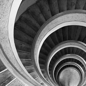 Spiral Staircase No. 6 by PhotoINC Studio