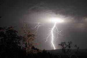 Lightning by Photos by Dennis Quago