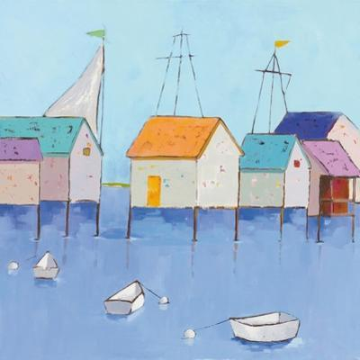Boat House Row by Phyllis Adams
