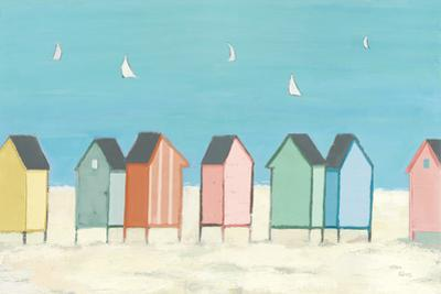 Cabanas I Pastel by Phyllis Adams