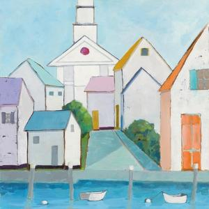 Harbor Town III no Sign by Phyllis Adams