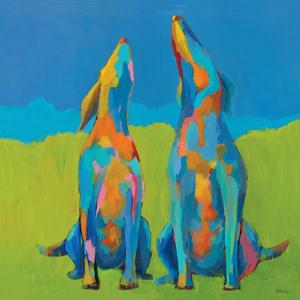 Howling Hounds by Phyllis Adams