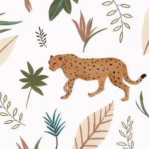 African Cheetah Ii by PI Creative Art