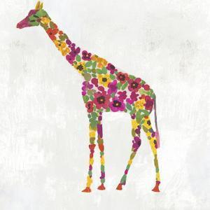 Blooming Giraffe I by PI Creative Art