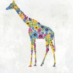 Blooming Giraffe II by PI Creative Art