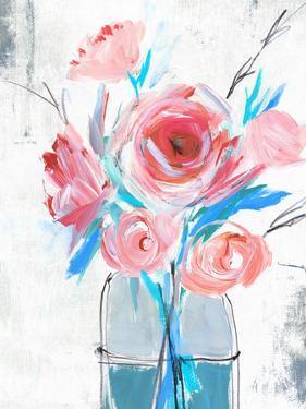 Blue Vase I by PI Creative Art