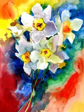 Blue Vase Ii by PI Creative Art