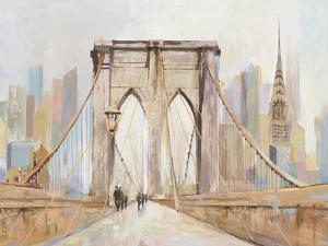Brooklyn Bridge Walkway by PI Creative Art