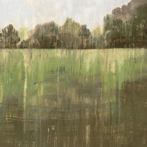 Green Field Ii by PI Creative Art