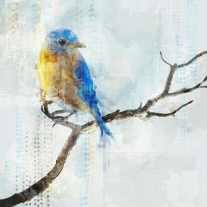 Little Blue Bird I by PI Creative Art