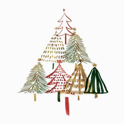 Pine Trees I by PI Creative Art