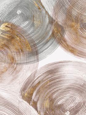 Spiral Rings Ii by PI Creative Art