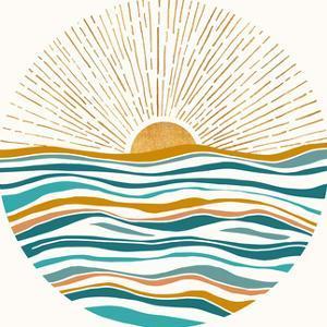 Tropic Blues Ii by PI Creative Art