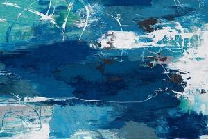 Blue Abstractions by PI Studio