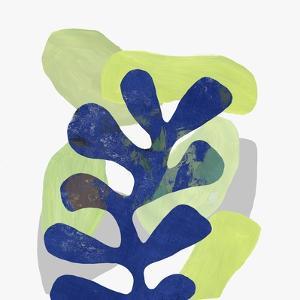 Blue Leaf II by PI Studio