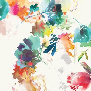 Glitchy Floral II by PI Studio