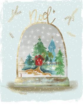 Holiday Snow Globe III by PI Studio