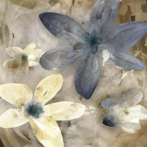 Ink Drip Floral II by PI Studio