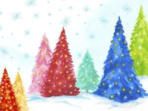 Magic Christmas Trees I by PI Studio