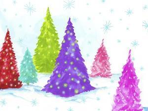 Magic Christmas Trees II by PI Studio