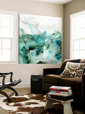 Mint Bubbles I by PI Studio