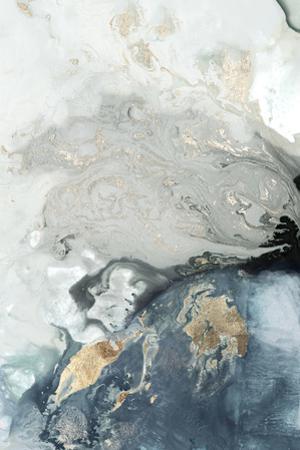 Ocean Splash I Indigo Version by PI Studio
