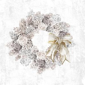 Pinecone Wreath by PI Studio