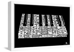 Piano Song Names Text Poster