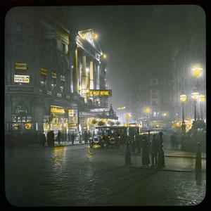 Piccadilly Circus by Night