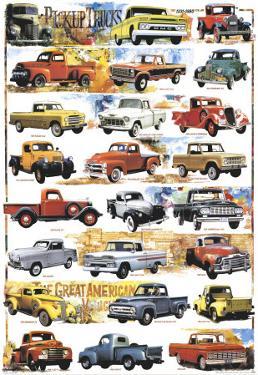 Pick-Up Trucks, 1931-1980