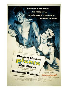 Picnic, William Holden, Kim Novak, 1955