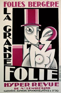 Folies-Bergere, La Grande Folie by Pico