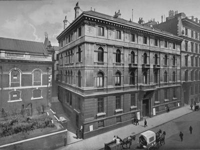 British and Foreign Bible Society House, City of London, c1890 (1911)