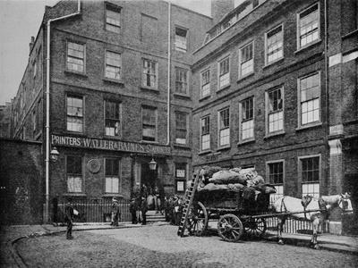 Dr Johnson's House, City of London, c1900 (1911)