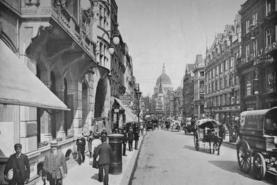 Fleet Street, City of London, c1900 (1911)