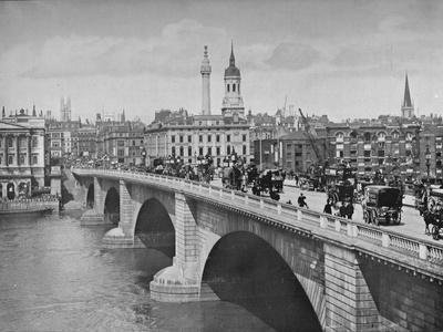 London Bridge, City of London, 1911