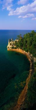 Pictured Rocks National Lake Shore Lake Superior Upper Peninsula Mi USA