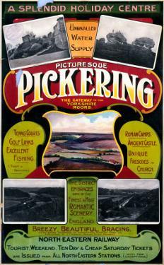 Picturesque Pickering, NER, c.1900-1910