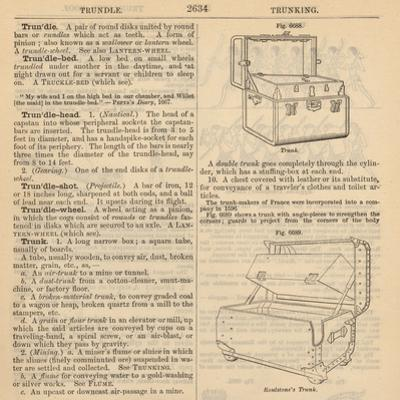 "Travel Encyclopedia ""Trundle & Trunks"" by Piddix"
