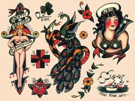 77d48dc768 Affordable Tattoos Posters for sale at AllPosters.com