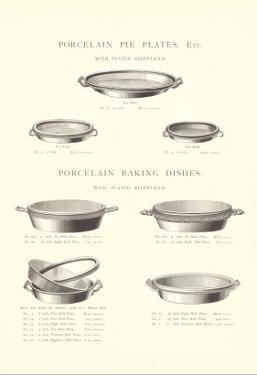 Pie Plates and Baking Dishes