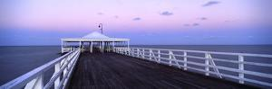 Pier at Dusk, Shorncliffe Pier, Shorncliffe, Brisbane, Queensland, Australia