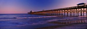 Pier in the Ocean, Folly Beach Fishing Pier, Folly Beach, Folly Island, Charleston County
